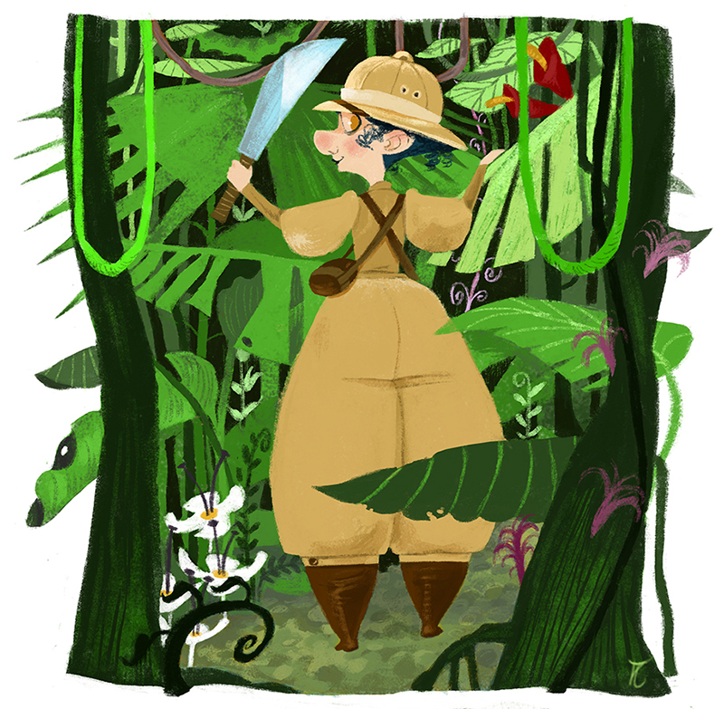 Nellie in the jungle-Aina Albi