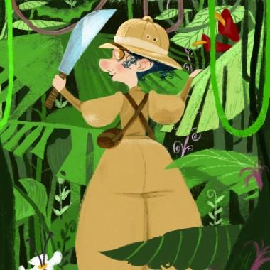 Nellie en la junglacua